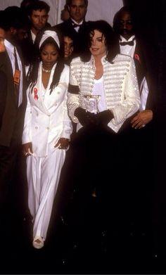Michael Jackson and Janet