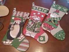 Botas de natal,  patchwork