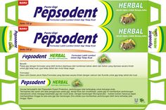 Pepsodent packaging