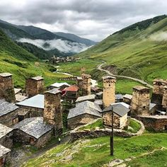 Ushguli in Georgias Svaneti region is the highest permanently inhabited Wander, Places To Visit, Germany, Hiking, Camping, Vacation, Mountains, Georgia, Travel
