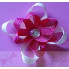 $7 Large Jewel Flower! #Flower #Hairclip