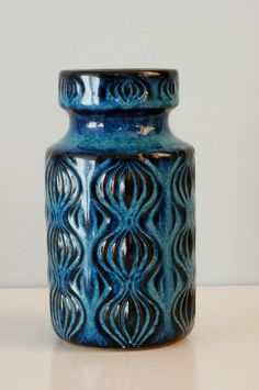West Germany Scheurich vase number 285-15 door LilacstreetVintage