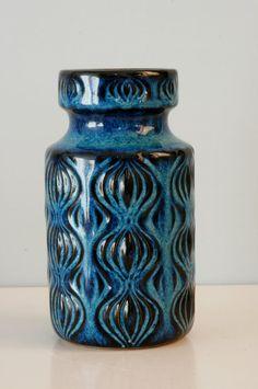 West Germany Scheurich vase number 285-15 door LilacstreetVintage