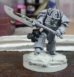 Mordian 7th Regiment: Heresy Era Thousand Sons - Tartaros Terminator Praetor/Centurion Built