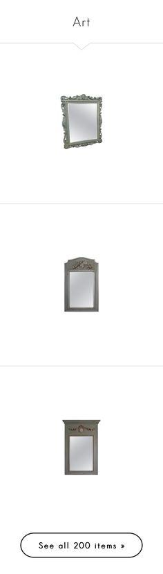"""Art"" by yblacasa on Polyvore featuring home, home decor, mirrors, mirror, framed wall mirrors, framed mirrors, floor mirrors, plain mirror, antique gold mirror y european home decor"