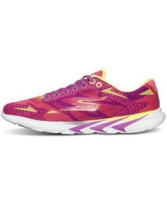 Skechers Women's GOmeb Speed 3 Running Sneakers from Finish Line - Orange 8