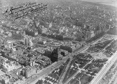 Imagénes aéreas de Buenos Aires de la década del 20 Historical Architecture, Paris Skyline, Life Is Good, City Photo, Travel, Dresden, Type 3, Facebook, Retro