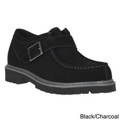 Lugz Men's 'Swagger Lo With Strap' Slip Resistent Work Boots | Overstock.com Shopping - The Best Deals on Work Shoes