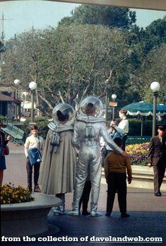 Disneyland's Mr. & Mrs. Tomorrowland, 1967 | Davelandweb