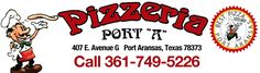The Best Pizza in Port Aransas, Texas!