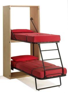 Dual bunk beds