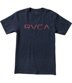 RVCA TEES BIG RVCA T-SHIRT