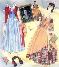 Vivien Leigh Paper Dolls.This From Ebay - MaryAnn - Álbuns da web do Picasa