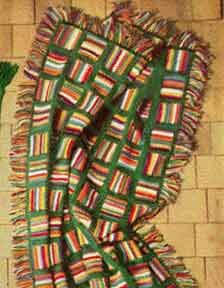 Star Stitch Afghan | Free Crochet Patterns  -- Anna:  What do you think of this pattern for your rasta afghan?