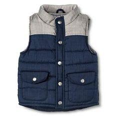 Toddler Boys' Fashion Vest - Navy Voyage