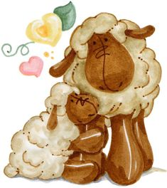 don't know if free or not but very cute and would be great for Print and cuts Farm Crafts, Country Crafts, Baby Farm Animals, Cute Animals, Hello Kitty, Cute Sheep, Cute Clipart, Hoppy Easter, Digi Stamps