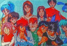 dope photo of this, isn't it ! and PUU too <3 Yu Yu Hakusho Anime