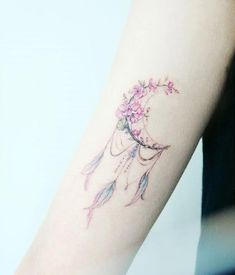 Ultra Pretty Tattoos for Women 2018 - tattoos - Tattoo Designs for Women Dream Tattoos, Mini Tattoos, Trendy Tattoos, Flower Tattoos, Body Art Tattoos, New Tattoos, Small Tattoos, Tatoos, Feminine Tattoos