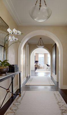 A fabulous foyer. Me
