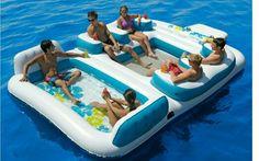 Lake float. Amazing!