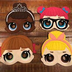 Children's felt masks with elastic! Check availability for other Animal Masks For Kids, Mask For Kids, Fun Projects, Sewing Projects, Diy For Kids, Crafts For Kids, Felt Mask, Avengers Birthday, Doll Party