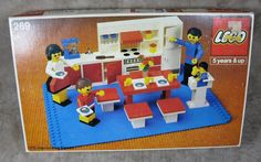 Vintage 1979 LEGO Home Maker Kitchen Set # 269 Missing A Few Pieces #LEGO