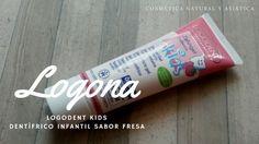 Logona: Logodent Kids Dentífrico Infantil Sabor Fresa