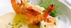 Scampi's met currysaus | Leef lekker