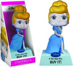 Cinderella: If the shoe fits, BUY IT! - Funko Wisecracks Bobble-Head Figure -- Check this awesome product by going to the link at the image.(It is Amazon affiliate link) #company