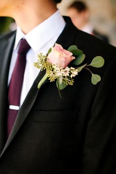 Gorgeous Estate Wedding from Kevin Le Vu Photography. To see more: http://www.modwedding.com/2014/09/14/gorgeous-estate-wedding-kevin-le-vu-photography/ #wedding #weddings #boutonniere