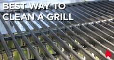 What a great tip for cleaning your grill!