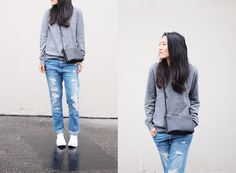 SWEATER AND JEANS (by Ann Kim) http://lookbook.nu/look/4363593-SWEATER-AND-JEANS