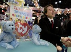 f9b9094abee Ty Warner Beanie Babies Pleads Guilty to Tax Evasion...Has 2.6 BILLION and