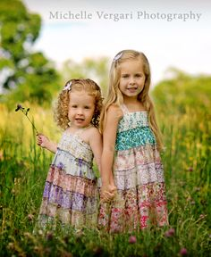 Child photography (cute pic and gorgeous clothes!)