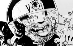 mcbess Graffiti Styles, Graffiti Art, Art Eras, Skateboard Art, Artsy Fartsy, Illustrators, Art Work, Animation, Fresh