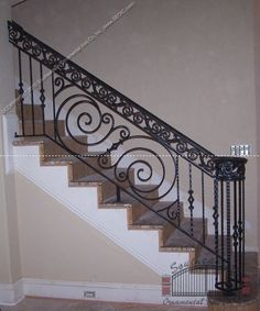 Building Indoor Stairs #1 - Indoor Stair Railing Designs | Spindle ...