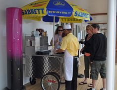 Hot Dog's are complimentary on the Norwegian Breakaway!
