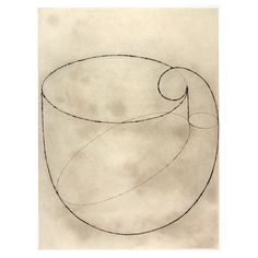 Martin PURYEAR  (American, born 1941)    hardground etching with drypoint,   spitbite aquatint, chine collé and Gampi  35 x 28 inches  88.9 x 71.1 cms  edition of 25, 1/25