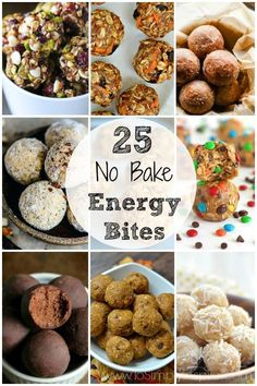 Simple No Bake Energy Bites are a wonderful choice for a quick, healthy snack that tastes like you are indulging in a dessert.