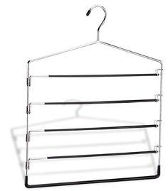 Organize It All 5-Tier Swing Arm Slack Rack (1302W-6)
