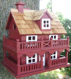 Red Novelty Cottage