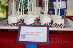 Nautical 1st Birthday Birthday Party Ideas | Photo 1 of 16 | Catch My Party