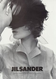 I just love the Jil Sander series. Makes me look every time.