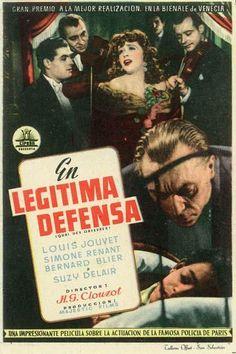 """En legitima defensa (1947) """"Quai des Orfèvres"""" de Henri-Georges Clouzot - tt0039739"""