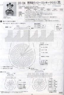 Patron Mickey Mouse Amigurumi Gratis : 1000+ images about imigurumi crochet on Pinterest ...