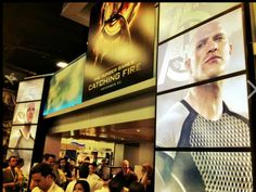 Catching Fire at Comic Con – Day 1. Sorry its been sp long since i pinned guys, ove been at camp!!