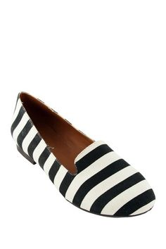 EXTREME by Eddie Marc Stephanie Striped Loafer by Fall Preview on @HauteLook