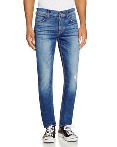 Hudson Blake Slim Fit Straight Leg Jeans