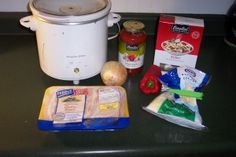 Healthy Meals with Coupons: Crockpot Pizza Chicken!