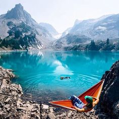 Jade lake in Washington State